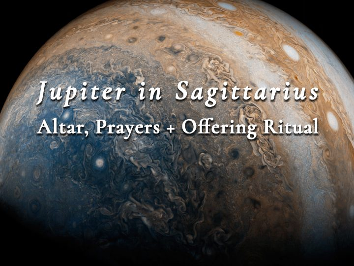 Jupiter in Sagittarius — Altar, Prayers, and Offering Ritual